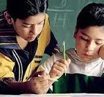 student helping student